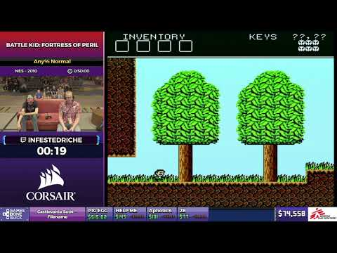 Battle Kid: Fortress of Peril by InfestedRiche in 0:41:46 - SGDQ2017 - Part 4