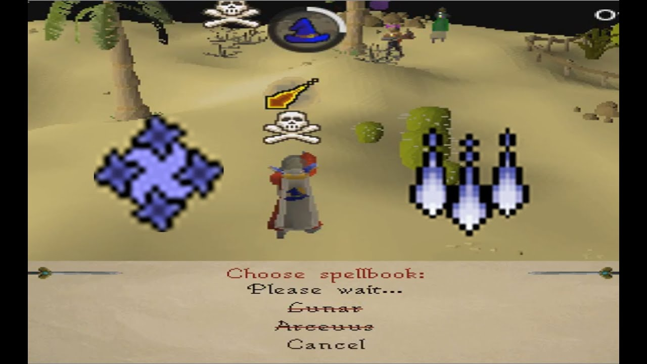 Magic Cape Spellbook Swap ~Clutch Pk~ [With Commentary]
