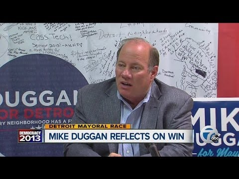 Former DMC CEO Mike Duggan reflects on win