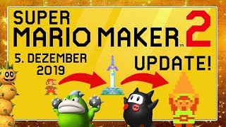 SUPER MARIO MAKER 2 2.0 Update angespielt! | Master-Schwert (Link), Pokey, Spike & Ninji-Speedrun