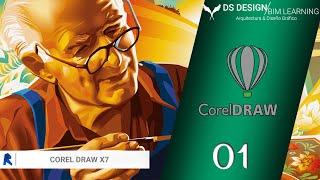 Corel Draw x7 Básico en Español   Cap.: 1   Interfaz del programas