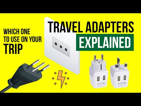 Power PLUGS And ADAPTERS Explained | Travel Tips [2019]