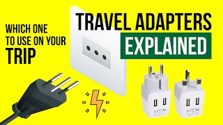 TRAVEL ADAPTERS and Power PLUGS explained