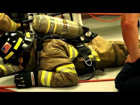 LPFPD4 Search and Rescue Training Down Firefighter Scenario