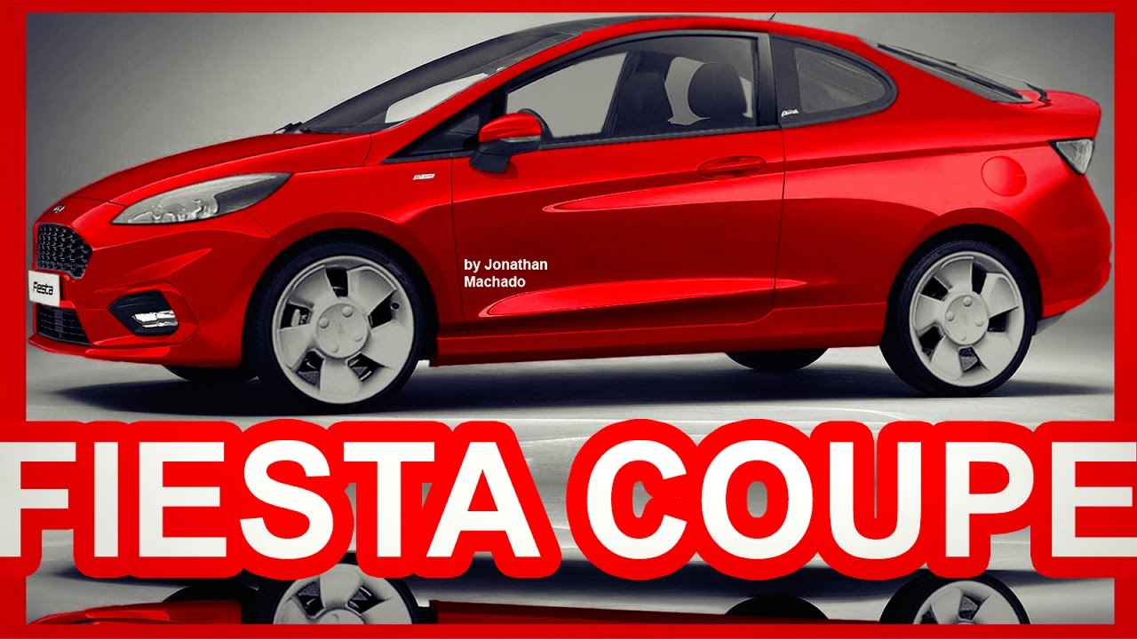 photoshop new 2018 ford puma fiesta coupe next generation. Black Bedroom Furniture Sets. Home Design Ideas