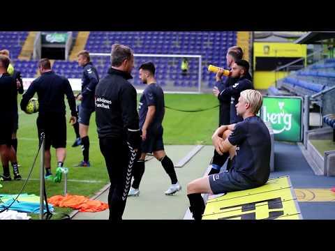 Johan Larsson inden Hajduk Split