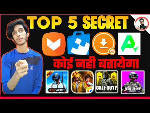 Top 5 Apps To DOWNLOAD Any Game And App ! Call Of Duty Mobile,Game For Peace , PUBG MOBILE Vng