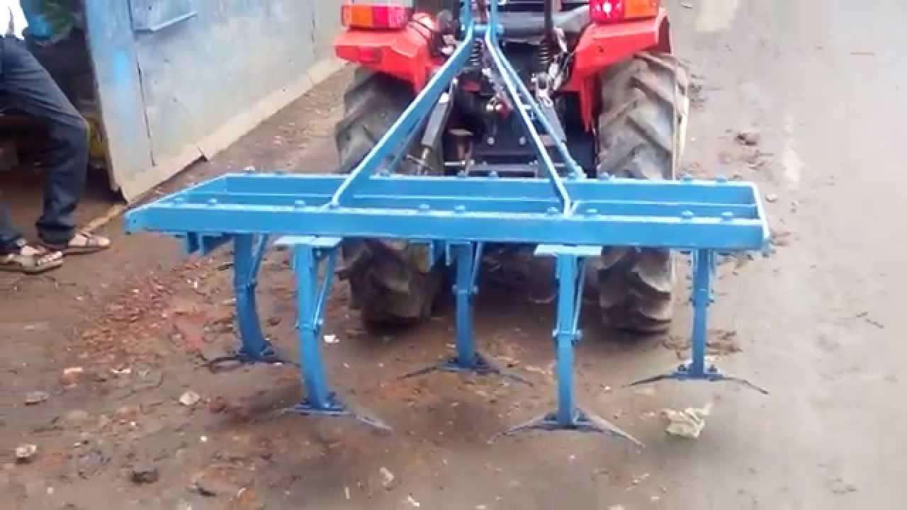 Mini Tractor Cultivator Youtube