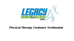 Physical Therapy and Back Pain Customer Review Testimonial Dothan AL