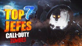 Los 7 Jefes Zombie Más Fuertes de Call of Duty Black Ops 1, 2 y 3 (Top 7 Enemigos Más Poderosos)