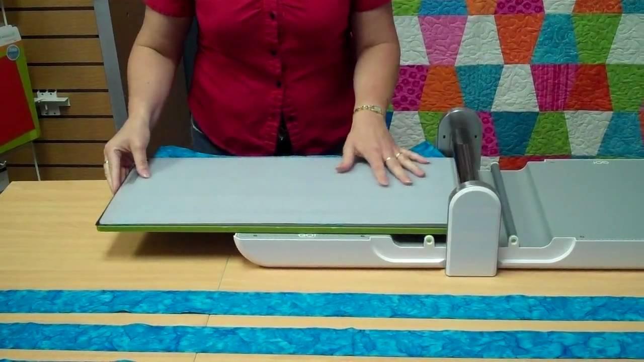 "Cutting Mat 10/"" x 24/"" Strip Cutter AccuQuilt Quilting Craft Fabric Big Shot"