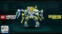 Lego Hero Factory: Invasion From Below - Protect The Galaxy From All Threats (iOS/iPad Gameplay)