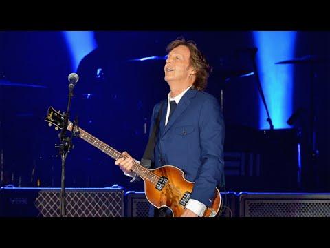 Paul McCartney Dodger Stadium Soundcheck August 10, 2014