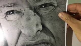 Easy drawing videos  - How to shade Nose - Five Pencil Method - 4H-2H-HB-2B-4B- Part 1
