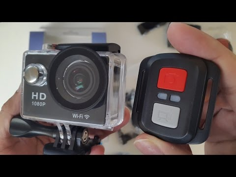 4K Ultra HD Waterproof Action Camera - WiFi - HDMI - Remote Control by NEXGADGET