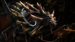 Twintania Mount - Final Fantasy XIV: Heavensward - (With Commentary)