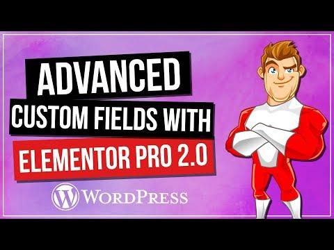 Advanced Custom Fields (ACF) & Elementor Pro 2.0