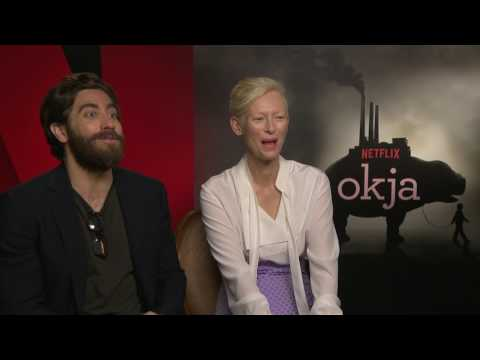 Tilda Swinton and Jake Gyllenhaal talk to MiNDFOOD about their new film Okja
