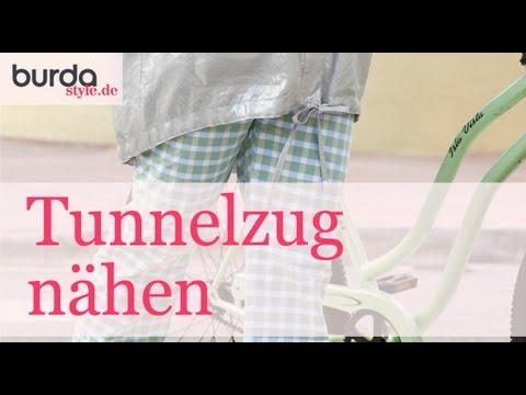burda style tunnelzug n hen youtube. Black Bedroom Furniture Sets. Home Design Ideas
