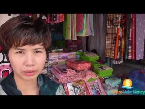 ร้านขายส่งผ้าปูที่นอน ผ้าห่มนาโนราคาถูกที่ตลาดโรงเกลือ - [Share Make Money]