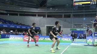 QF - MD - Mohammad Ahsan/Hendra Setiawan vs Hoon Thien How/Tan Wee Kiong 2014 YONEX OPEN JAPAN