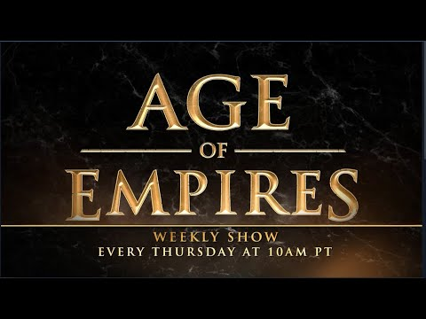 Age Of Empires Weekly Stream | August 22 | AoE: DE On Steam