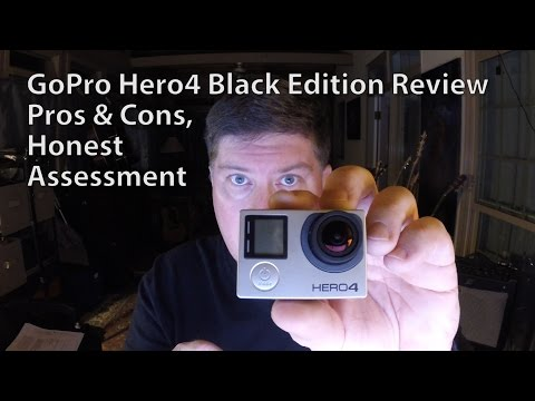 GoPro Hero4 Black Edition Official Review - Pros & Cons