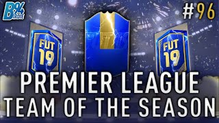 *LIVE* MASSIVE PREMIER LEAGUE TOTS PACK OPENING - Weekend League - FIFA 19 RTG #95