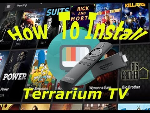 Download Terrarium Tv on Amazon Fire Stick Fast and Easy