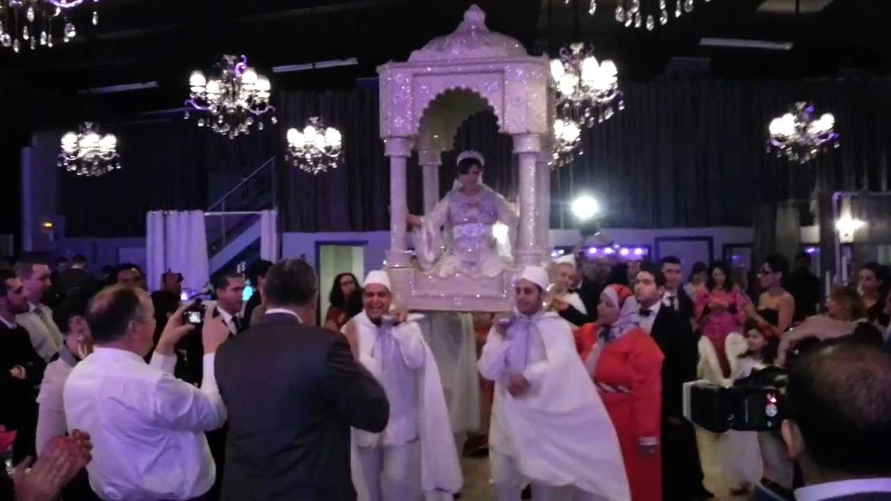 L Alhambra Salle De Reception Mariage Soiree Marocaine Youtube