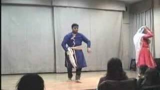 2006 12 02 - kathak - 17 - Ashwani Nigam & Svetlana Nigam -