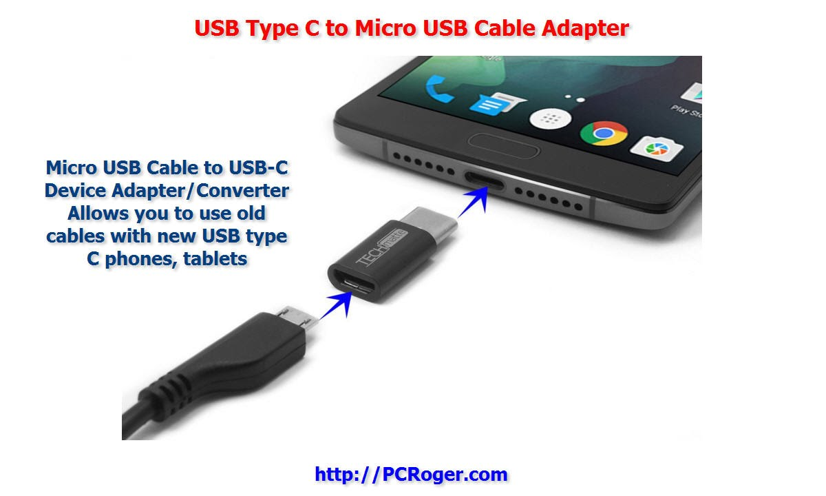 Usb type c to micro usb cable adapter youtube usb type c to micro usb cable adapter sciox Gallery