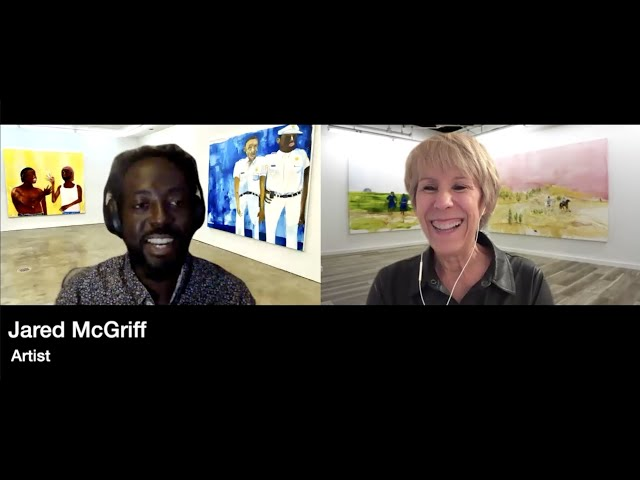 Virtual Art Talk with Jared McGriff and Bonnie Clearwater