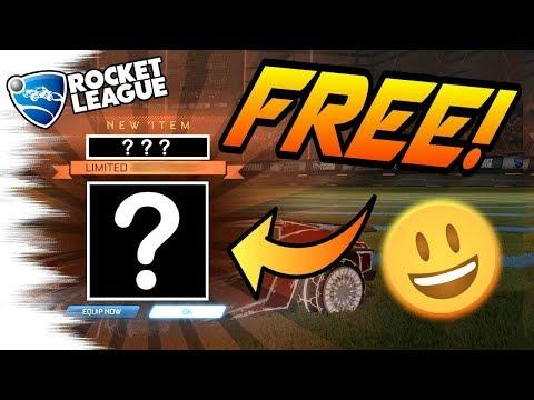 Rocket League UPDATE: FREE NEW ITEM for AVENGERS: Infinity War! - Trading Tips (Secret Popcorn)