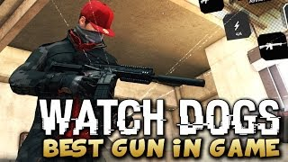 Watch Dogs - BEST GUN IN THE GAME LOCATION ! (Watch_Dogs Guns) - PS4/XBOX/PC !
