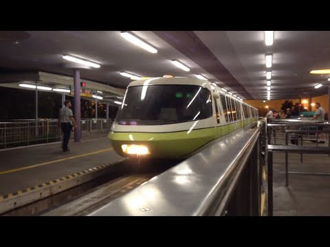 The Walt Disney World Monorail System in Orlando, Florida! (