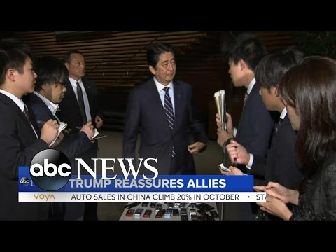 Trump To Meet With Japanese Prime Minister Abe