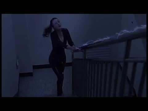 Daniella Wang (Li Dan Wang) in tight leather
