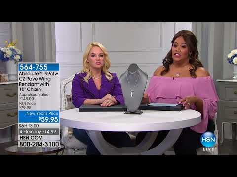 HSN | Absolute Brilliance Jewelry 01.08.2018 - 02 AM