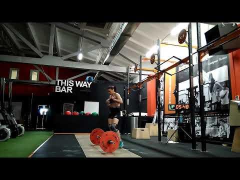 Оля Даниленко, г. Москва, CrossFit Idol, 2й Отборочный на Russia Throwdown 2017