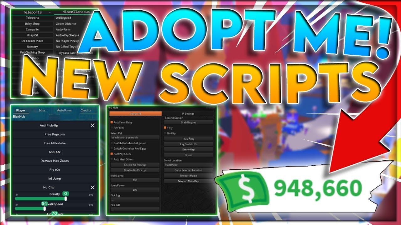 [UPDATED] ROBLOX | Adopt Me Script GUI / Hack | Auto Farm | Infinite Money | *PASTEBIN 2021*