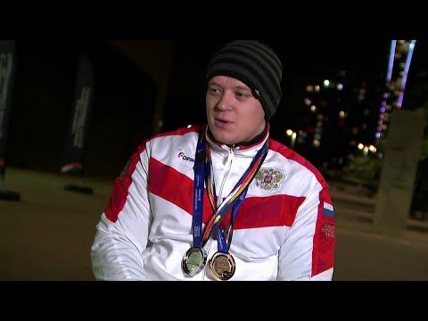 На ЧМ по плаванию в Лондоне российские паралимпийцы установили рекорд и взяли более десятка медалей.