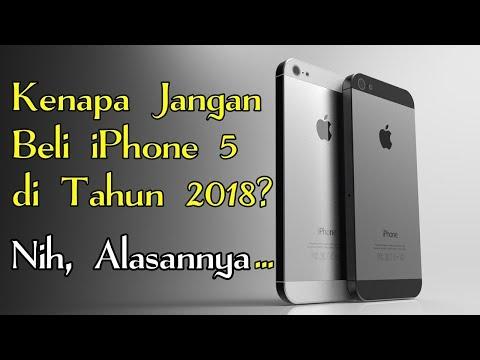 Alasan Jangan Beli iPhone 5 di Tahun 2018 ! Ini Akibatnya...