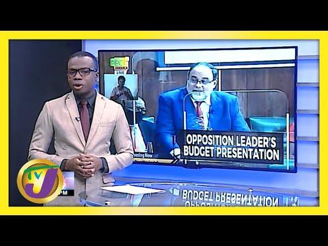 Jamaica's Opposition Leader: 'Gov't Treating Devaluation as Tax' | TVJ News
