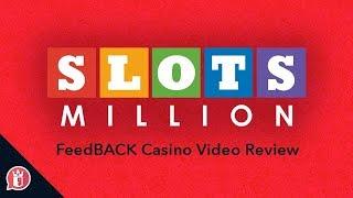 SlotsMillion Casino Review – Best Online Casino ! Get 2x Exclusive Signup Bonuses