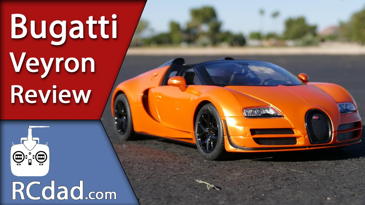 bugatti veyron vitesse rc car review youtube. Black Bedroom Furniture Sets. Home Design Ideas