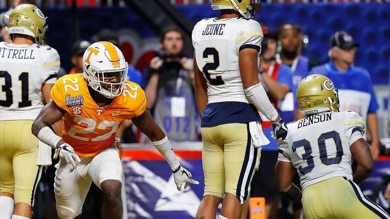 What UT Vols' Rashaan Gaulden told NFL teams about profane gesture at Alabama