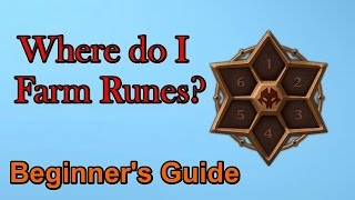 Rune Farming Advice FOR BEGINNERS - Summoners War
