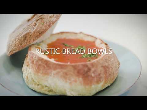 Rustic Bread Bowls