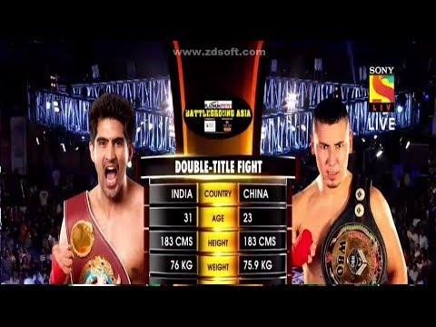 Vijender Singh vs Zulpikar Maimaitiali's pro boxing full match in HD